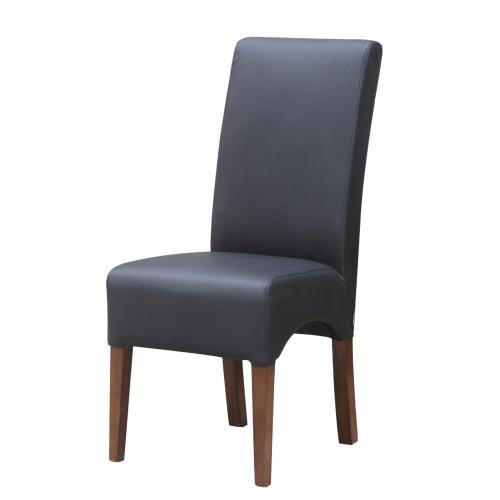 Fine Mod Imports FMI10155-black Dinata Dining Chair, Black