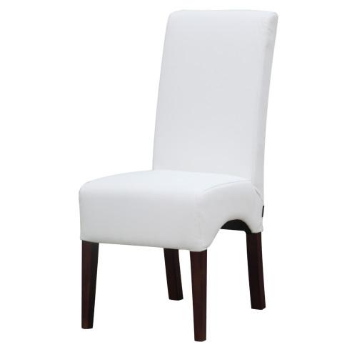 Fine Mod Imports FMI10155-white Dinata Dining Chair, White