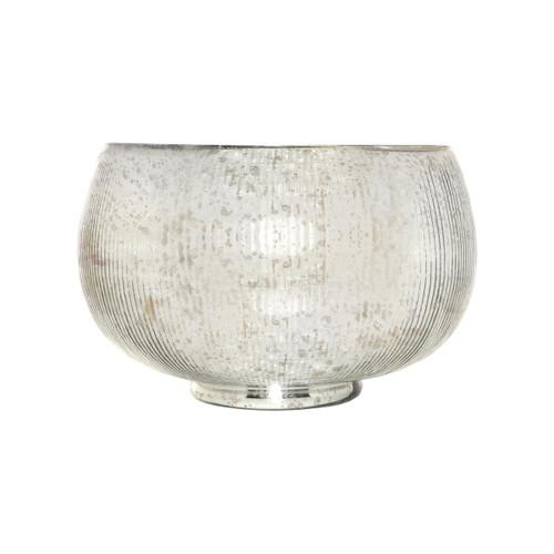 POMEROY 133329 Scarlette Bowl, Antique Silver