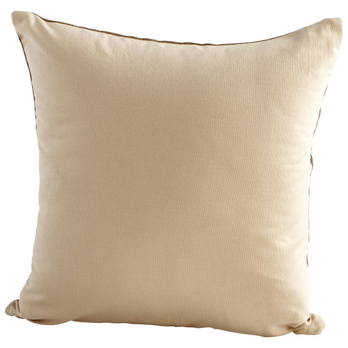 CYAN DESIGN 09319 Colosseum Pillow, Brown