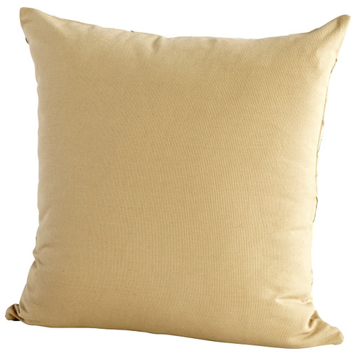 CYAN DESIGN 09324 Zeta Pillow, Tan