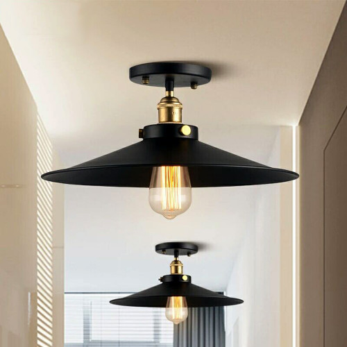 WAREHOUSE OF TIFFANY LD4016 Candice 1-light Black Edison Lamp with Bulb