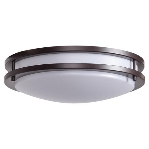 ACCESS LIGHTING 20465LEDD-BRZ/ACR Solero Dimmable LED Flush Mount