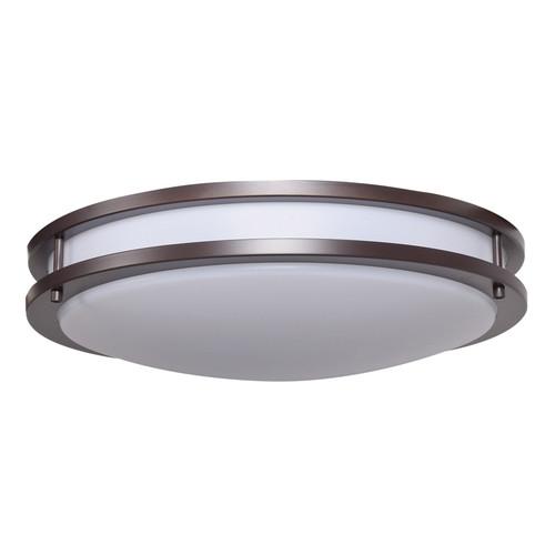 ACCESS LIGHTING 20467LEDD-BRZ/ACR Solero Dimmable LED Flush Mount