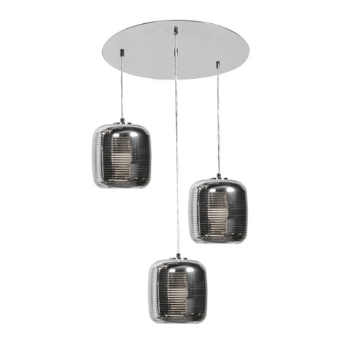 ACCESS LIGHTING 62341LEDDLP-MSS/SMAMB Dor 3-Light Pendant