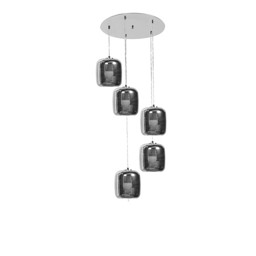 ACCESS LIGHTING 62342LEDDLP-MSS/SMAMB Dor 5-Light Pendant