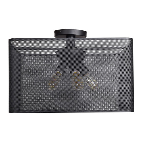 ACCESS LIGHTING 50921LEDDLP-BL Epic (l) Square Semi-Flush