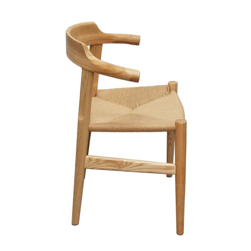 FINE MOD IMPORTS FMI10106-NATURAL Stringta Dining Side Chair, Natural