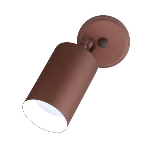 NICOR LIGHTING 11718 75W Bronze Cylindrical Adjustable Bullet Light