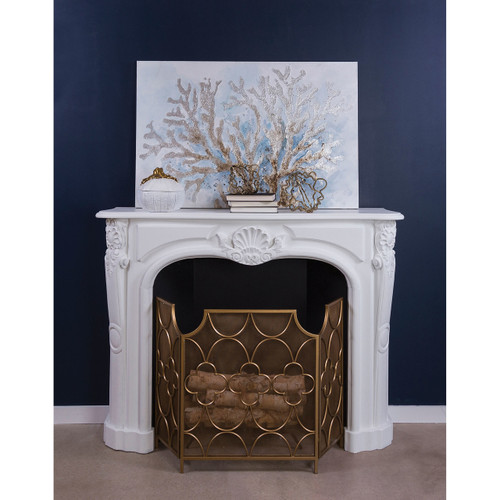 STERLING 351-10565 Three Magi Fireplace Screen