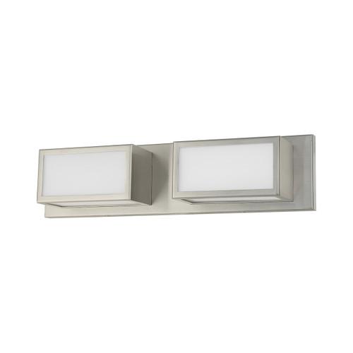 LIVEX LIGHTING 10132-91 Sutter ADA Bath Vanity, Brushed Nickel
