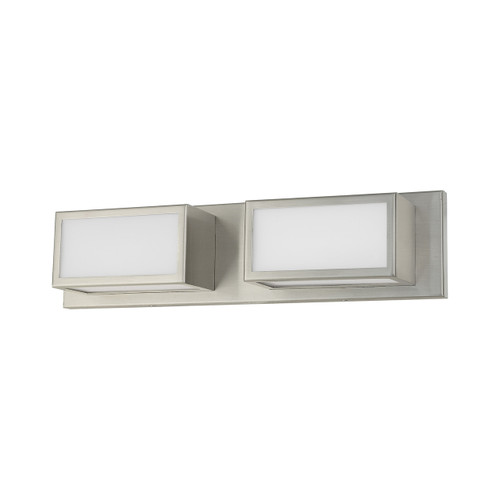 LIVEX LIGHTING 10132-91 Sutter ADA Bath Vanity, Brushed Nickel