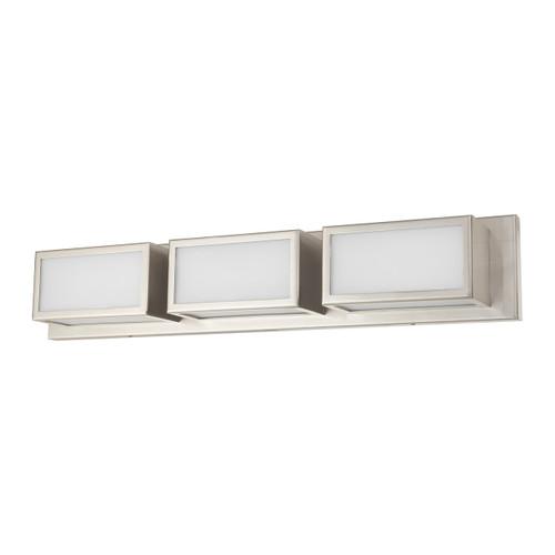 LIVEX LIGHTING 10133-91 Sutter ADA Bath Vanity, Brushed Nickel