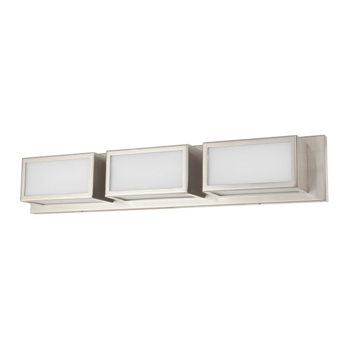 LIVEX LIGHTING 10133-91 Sutter ADA Bath Vanity, Brushed Nickel