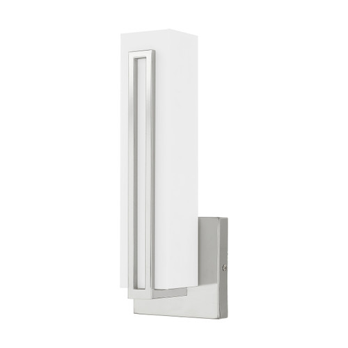 LIVEX LIGHTING 10190-05 Fulton ADA Wall Sconce, Polished Chrome
