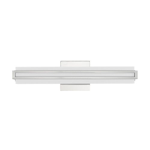 LIVEX LIGHTING 10192-05 Fulton ADA Bath Vanity, Polished Chrome