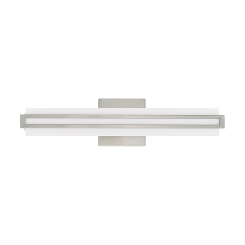 LIVEX LIGHTING 10192-91 Fulton ADA Bath Vanity, Brushed Nickel