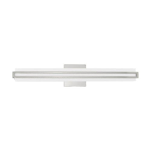 LIVEX LIGHTING 10193-05 Fulton ADA Bath Vanity, Polished Chrome