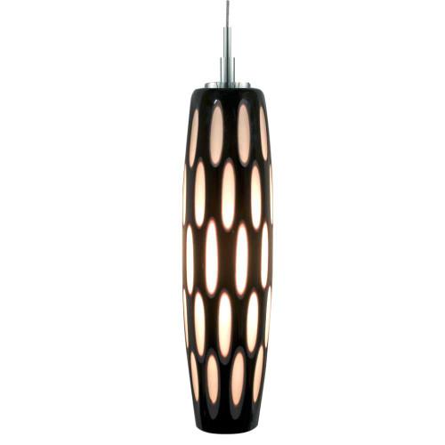 JESCO KIT-QAP403-BWBCH 1-Light Low Voltage Pendant & Canopy Kit
