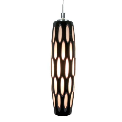 JESCO KIT-QAP403-BWBSN 1-Light Low Voltage Pendant & Canopy Kit