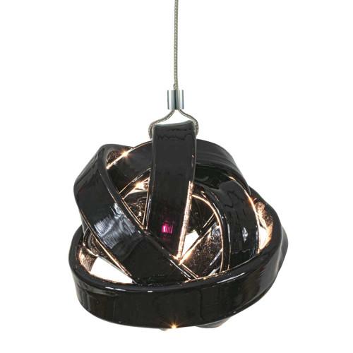 JESCO KIT-QAP404-CLBKCH 1-Light Low Voltage Pendant & Canopy Kit