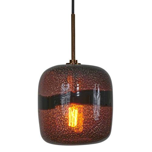 JESCO KIT-QAP407-PUBZ 1-Light Low Voltage Pendant & Canopy Kit