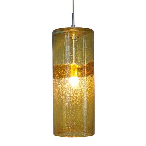 JESCO KIT-QAP408-AMSN 1-Light Low Voltage Pendant & Canopy Kit