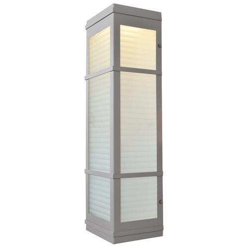 ACCESS LIGHTING 20040LEDDMG-SAT/RFR Metropolis (l) LED Outdoor Wall Fixture