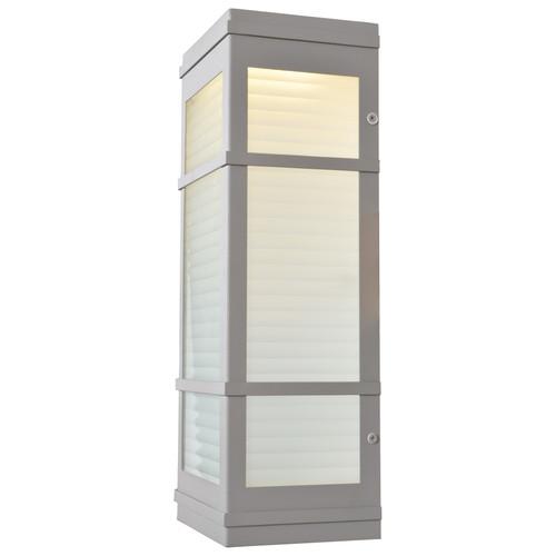 ACCESS LIGHTING 20039LEDDMG-SAT/RFR Metropolis (m) LED Outdoor Wall Fixture