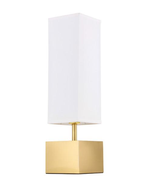 Elegant Decor TL3049BR Niki 1 light Brass Table Lamp
