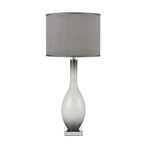 ELK HOME D4323 Blanco Table Lamp in Grey Smoked Opal and Chrome