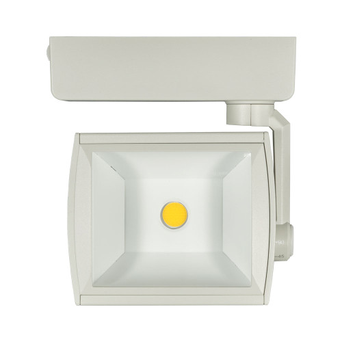 JESCO 1-Light LED 30W WALL WASH/FLOOD H-Track Head Fixture 4000K in White