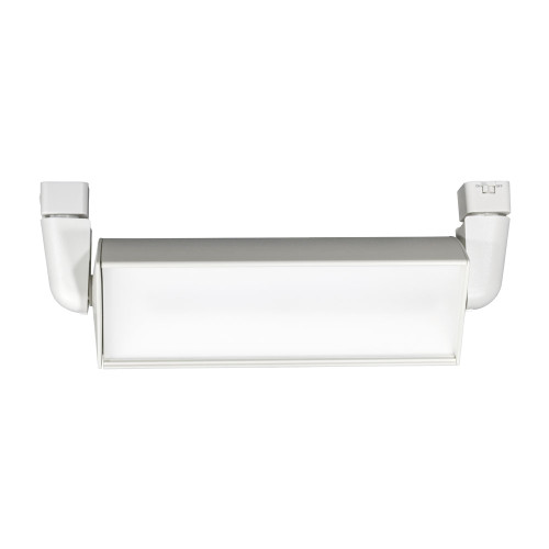 JESCO 1-Light LED 31W WALL WASH/FLOOD H-Track Head Fixture 4000K in White