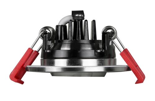 NICOR DGD211202KRDNK 2-inch LED Gimbal Recessed Downlight in Nickel, 2700K