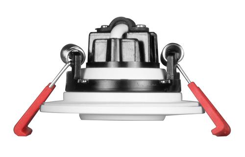 NICOR DGD211202KRDWH 2-inch LED Gimbal Recessed Downlight in White, 2700K