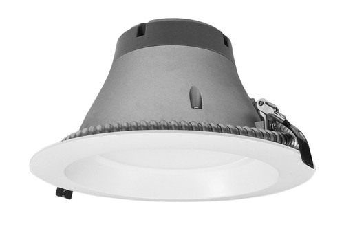 NICOR CLR8-10-UNV-30K-WH 8 inch Recessed Commercial LED Downlight, Direct to Ceiling Kit, White, 3000K