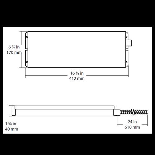 NICOR EMI200-1-UNV NICOR Emergency 20W Inverter Pack