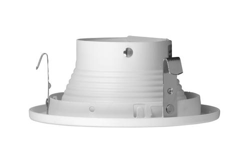 NICOR 14008 4 in. White Recessed Slot Aperture Trim for MR16 Bulb