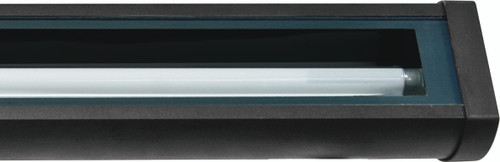 "DABMAR LIGHTING DF9401-B CAST ALUM SIGN FIXTURE 34.95"" 21W F21T5 120V, Black"