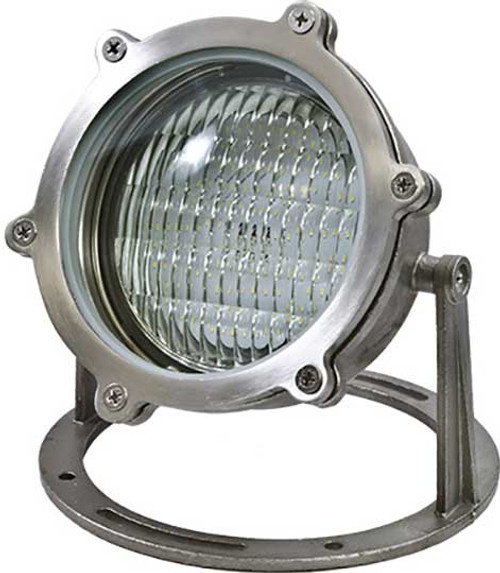 DABMAR LIGHTING LV308-LED9-RGBW-SS SS W/21' CORD UNDERWATER 9W RGBW LED PAR36 12V, Stainless Steel