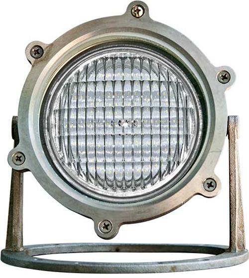 DABMAR LIGHTING LV308-LED9-RGBW-SS3 SS316 GRADE W/21' CORD UNDERWATER 9W RGBW LED PAR36 12V, 316 Marine Grade Stainless Steel