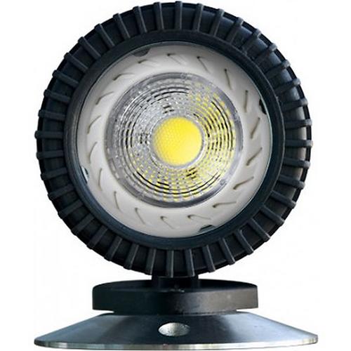 DABMAR LIGHTING LV341-LED7-B PVC UNDERWATER LIGHT 21' CORD 7W LED MR16 12V, Black