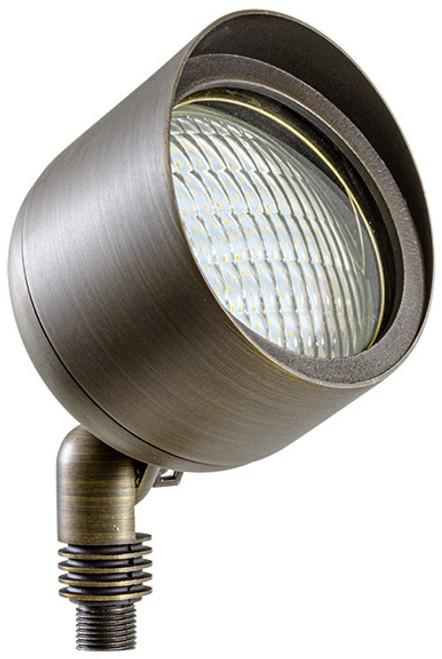 DABMAR LIGHTING LV27-WBS CAST BRASS SPOT LIGHT 35W PAR36 12V, Weathered Brass