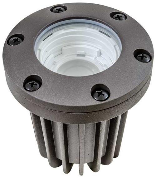 DABMAR LIGHTING LV348-LED10-BZ WELL LIGHT W/ ADJUSTABLE BEAMSPREAD 10W LED 12V, Bronze