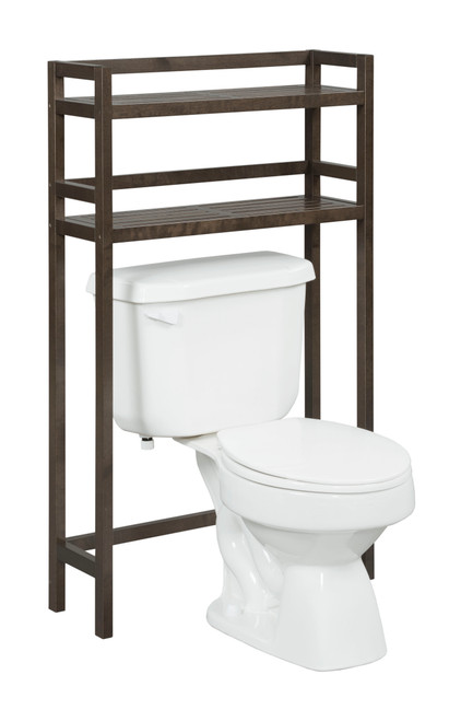 NEWRIDGE HOME 2026-ESP Solid Wood Dunnsville 2-Tier Space Saver for Bathroom Extra Storage