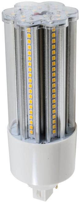 DABMAR LIGHTING DL-T-LED-140A-30K CORN LIGHT G24 / 2-PIN BASE 20W 100-277V 30K, White