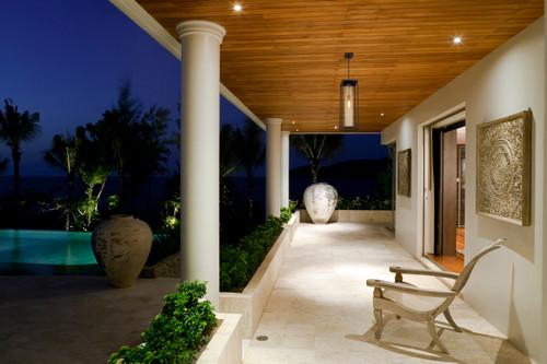 Z-LITE 584CHB-DBZ-OBS 1 Light Outdoor Chain Mount Ceiling Fixture,Deep Bronze + Outdoor Brass