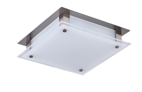 LIGHTING JUNGLE BAL50030 LED Flush Mount,Brushed Nickel