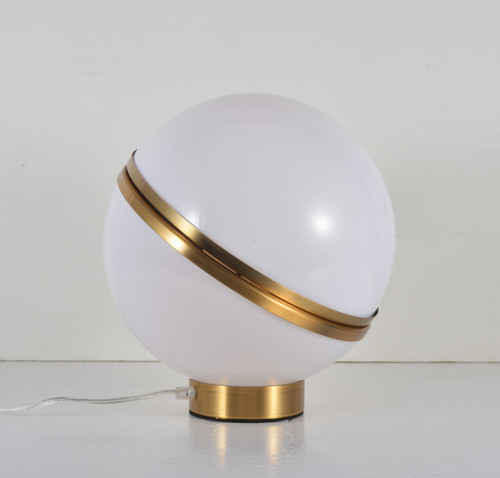 LIGHTING JUNGLE BE08 1-Light Table Lamp,Gold