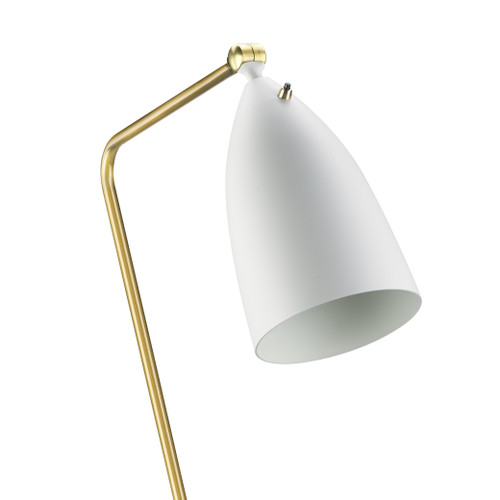 LIGHTING JUNGLE BEL01WH 1-Light Floor Lamps,White